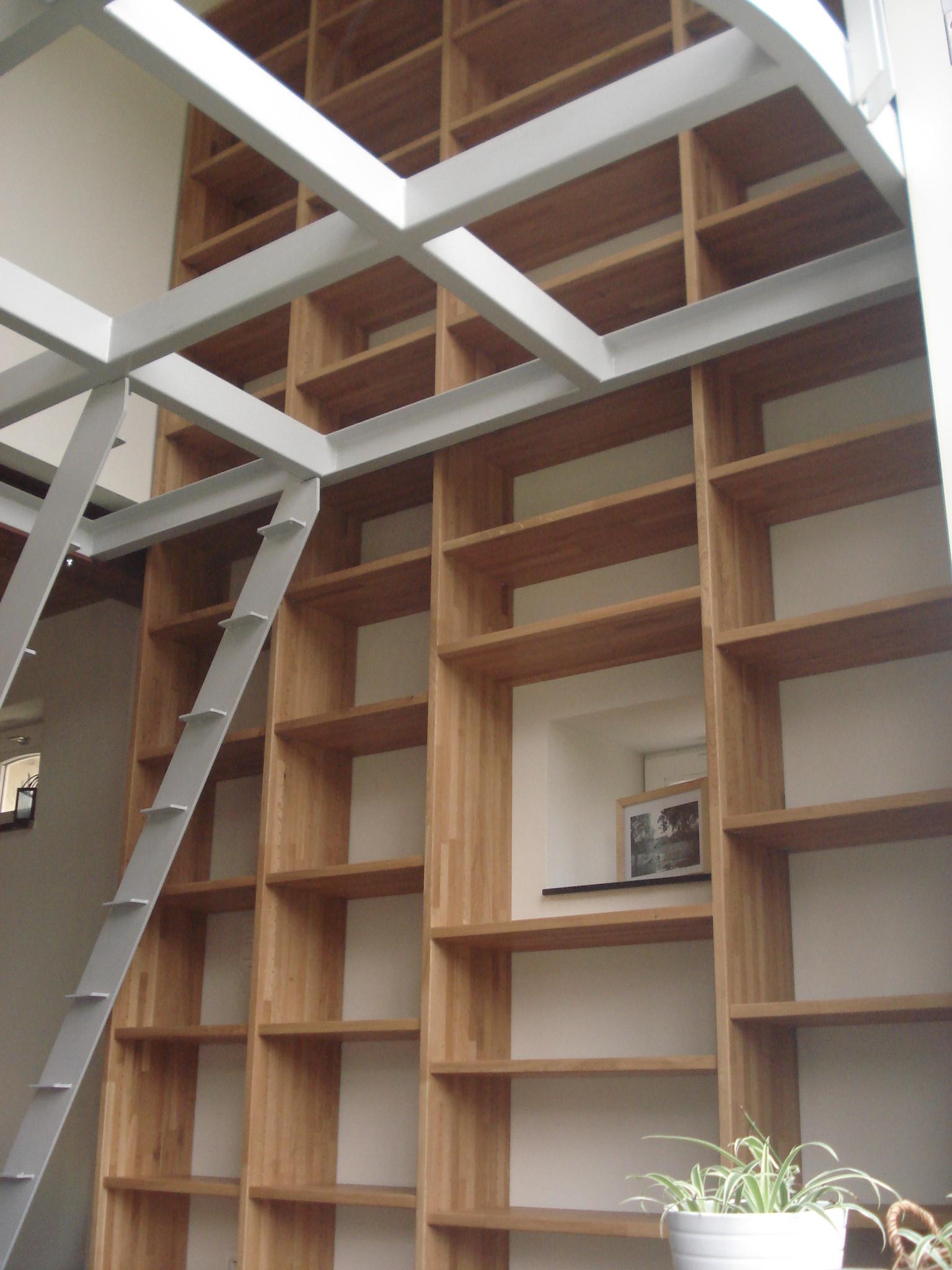 yannick de lauw menuisier eb niste blog archive biblioth que en ch ne. Black Bedroom Furniture Sets. Home Design Ideas